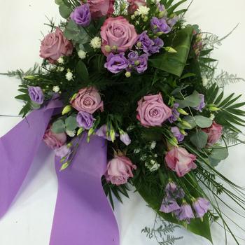 Grabgesteck in violett ab 70 Euro